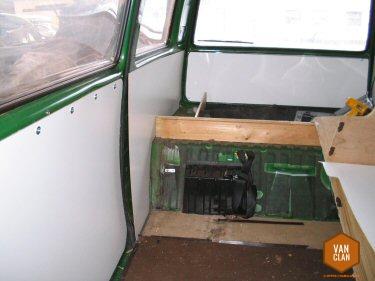VW Bus T3 Innenausbau Verkleidungen