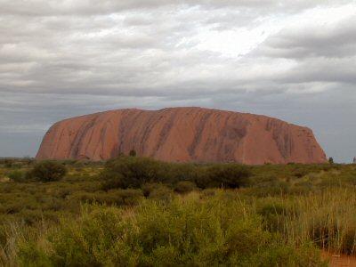 Uluru oder Ayers Rock