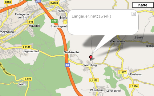 Blogmap von WordPress.de