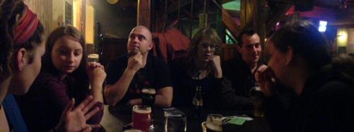 Was ein Spass im Irish Pub ;-)