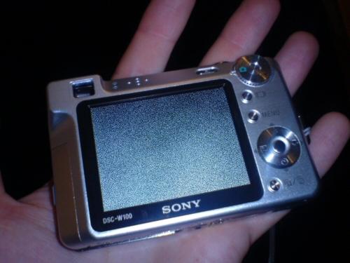 Defekte Sony DSC-W100
