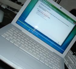 Vista auf Macbook