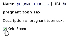 Pregnant Toons Spam