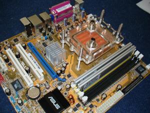 Asus M2A-VM HDMI mit Wasserkuehler