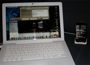iPhone am MacBook - Jailbreak