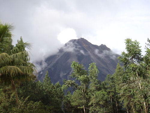 Vulkansicht in der Arenal Observatory Lodge