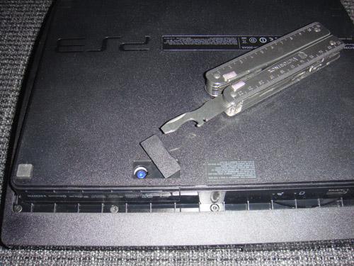 Unterseite der PS3
