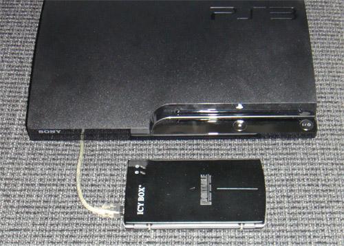 Externe Platte an der PS3