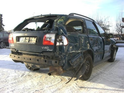Gecrashter Volvo - wär' ja ganz witzig, wenn's nicht Verwandtschaft wär'...