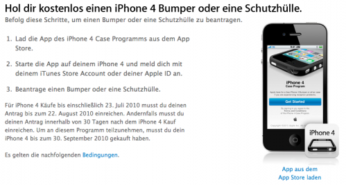 Apple iPhone 4 Case Program