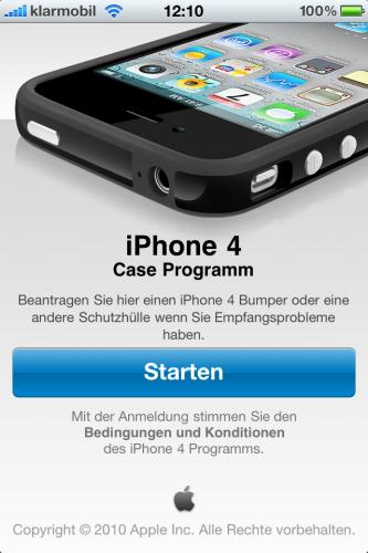 iPhone 4 Case Program App