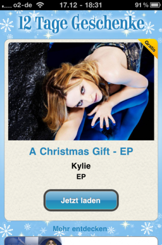 Kylie Minogue: geschenkt!