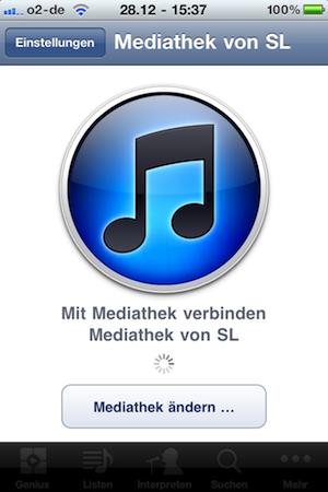 """App """"Remote"""" von Apple"""