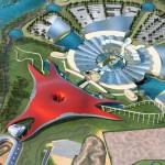 Yas Marina Circuit und Ferrari World Abu Dhabi