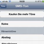 iPhone 4 (4s) SMS-Töne selbst erstellen Teil II