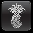 Das Logo von redsn0w: angebissene Ananas