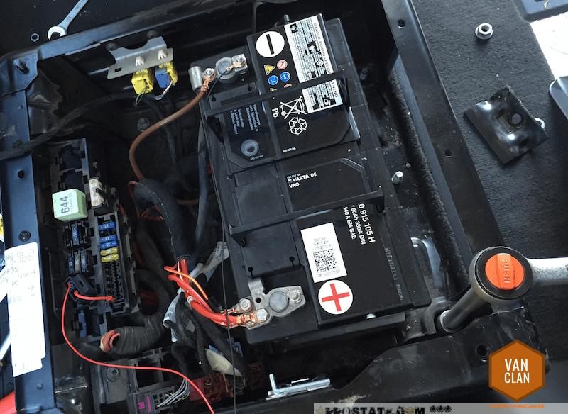 Elektrische Schnittstelle für externe Nutzung