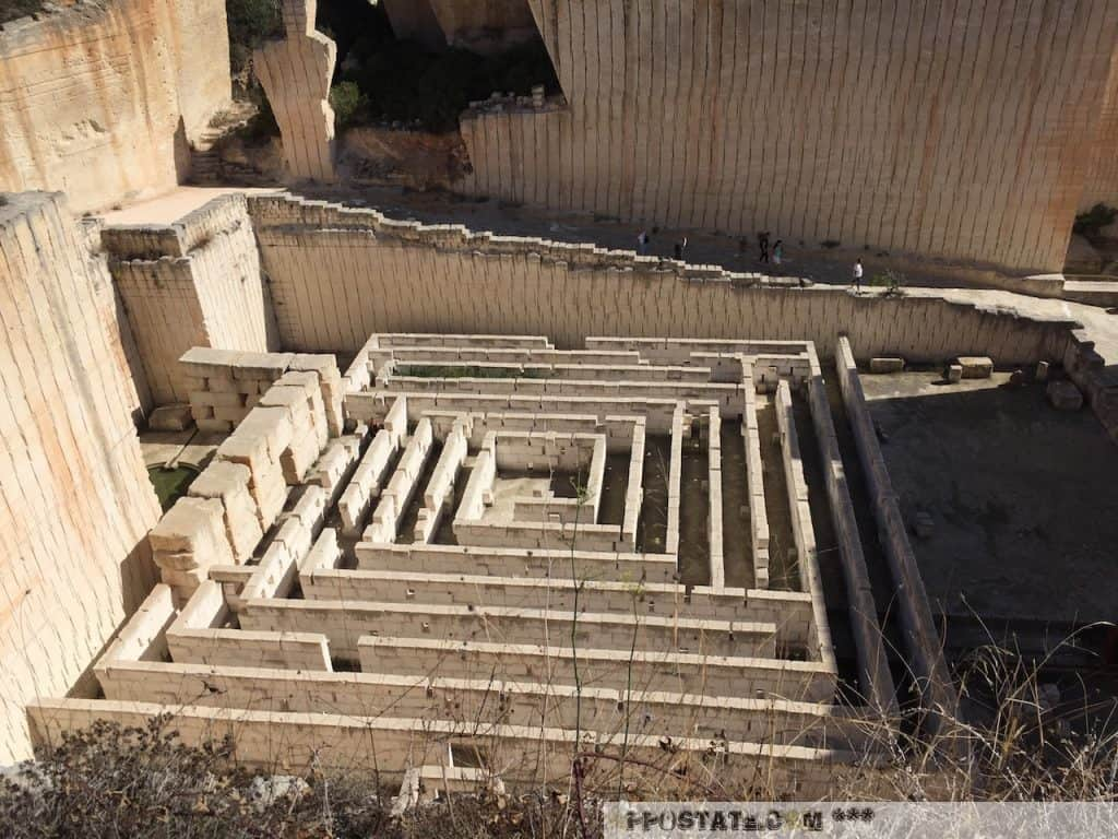 Líthica - Pedreres de s'Hostal - Labyrith