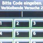 Update: PIN wird verlangt vom VW Radio RNS 510 nach Batterieabklemmen