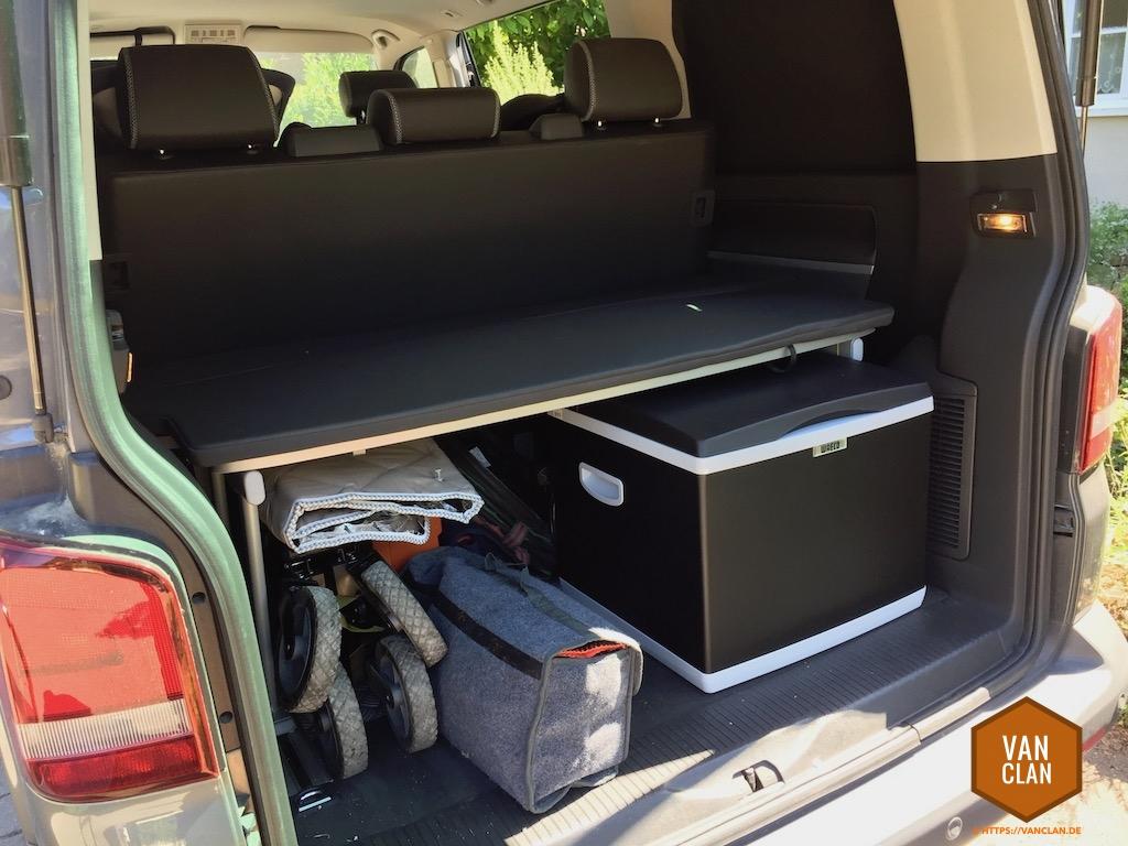 Kühlbox Für Kompressor Und Peltierbetrieb Im Vw T5 Multivan