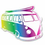 Car Stickers for Volkswagen Bus Drivers – The 18 best camper van stickers