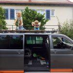 Großen Dachgepäckträger oder auch Dachgarten für den VW Bus T5 bauen