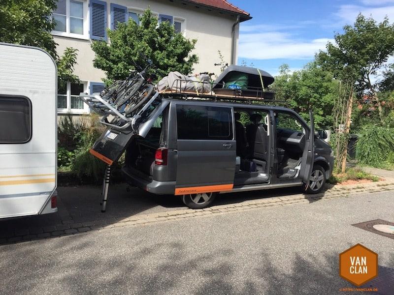 Großen Dachgepäckträger oder auch Dachgarten für den VW ...