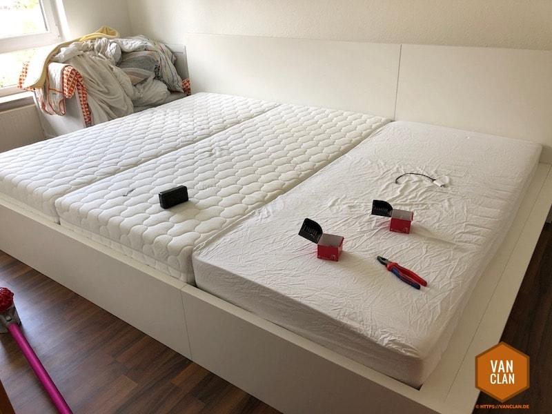 2 70m Breites Familienbett Auf Basis Von Ikea Malm Bauen Vanclan De