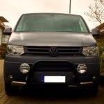 Rammbügel – Rammschutz – Bullenfänger am VW Bus T5 Multivan Panamericana nachrüsten