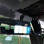 Innenspiegel mit Dashcam und Rückfahrkamera in den T5 Multivan bauen