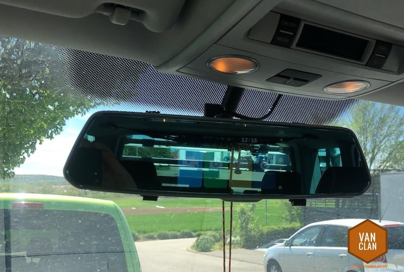 innenspiegel mit dashcam und r ckfahrkamera in den t5 multivan bauen. Black Bedroom Furniture Sets. Home Design Ideas