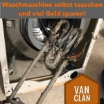 Waschmaschine (Siemens, Bosch, Neff, BSH, …) selbst reparieren: Verkalkte Heizung tauschen