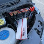 Orangenes Tachosymbol vom Tempomat leuchtet im VW Multivan T5