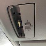 Wechsel der vorderen Innenbeleuchtung im VW Caddy 2K auf LED