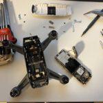 Drohne DJI Spark hebt nicht mehr ab bzw. stürzt aus niedriger Höhe ab