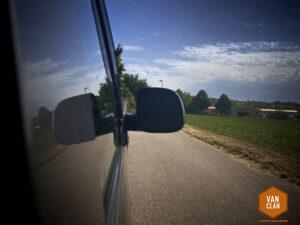 Aussenspiegel am T5 Multivan: Spiegelglas tauschen